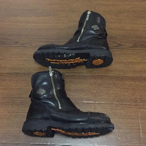 456b54c4fb1 Men's HARLEY DAVIDSON Interstate Motorcycle Boots